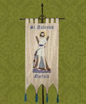 St Andrews Norfolk banner.