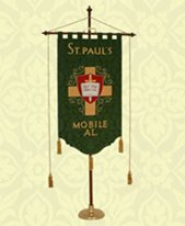 St Pauls Mobile Green Church Banner