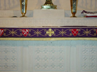 Altar Frontal Design-detail