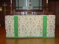 Altar Frontal custom design
