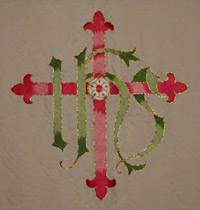 Altar Frontal Design embroidered detail